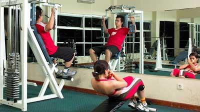 Jogging Track & Gym